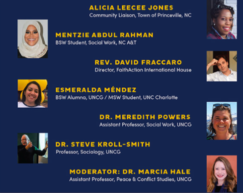 text of speakers' names