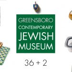 Image of text saying Greensboro Contemporary Jewish Museum