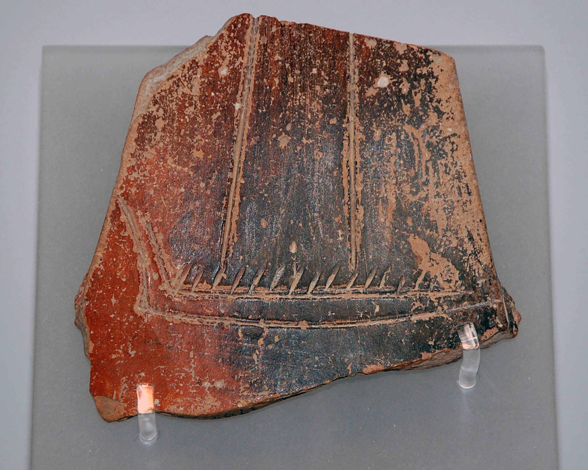 Artifact from Bronze Age Aegean ships