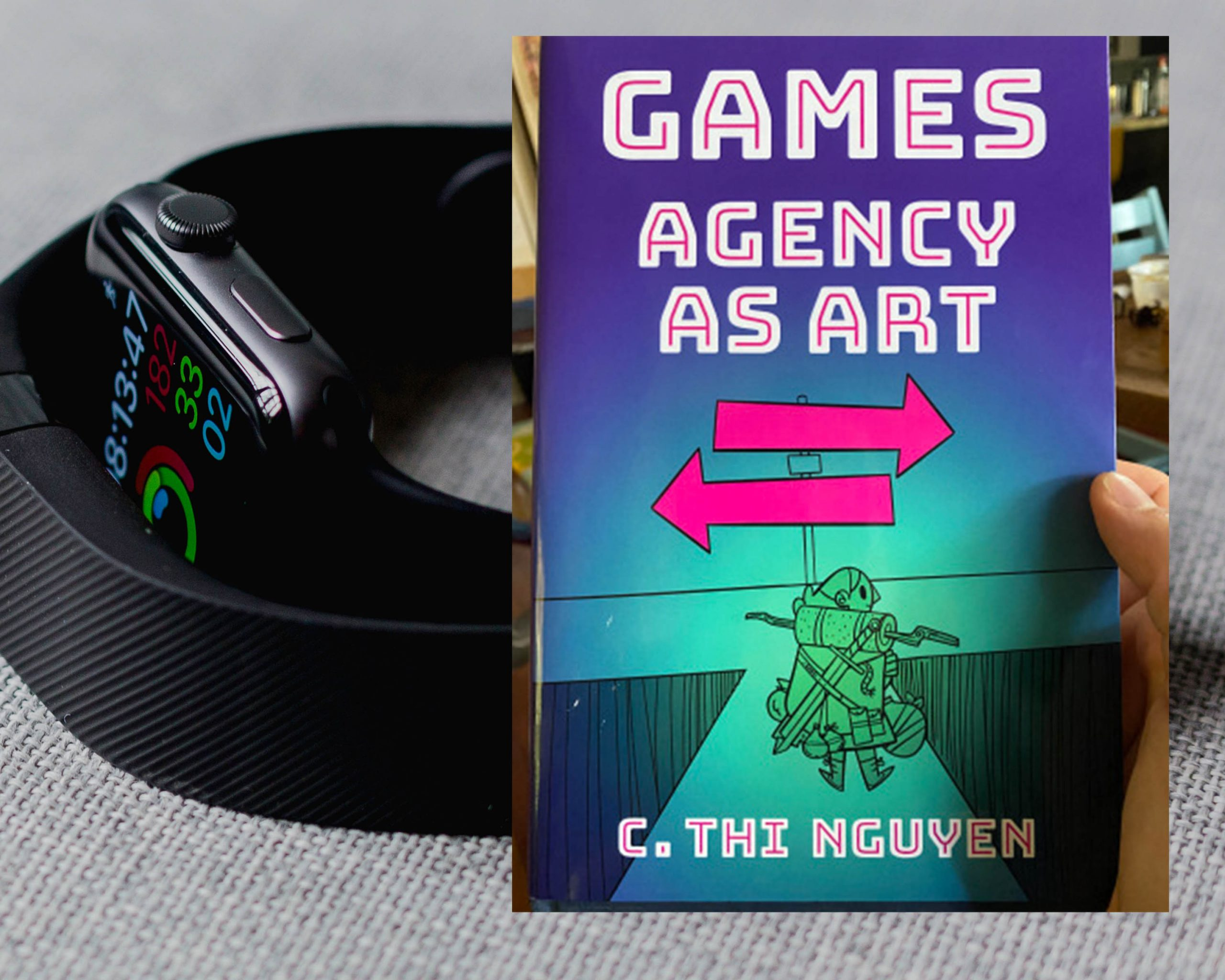 Book cover of Games Agency as Art