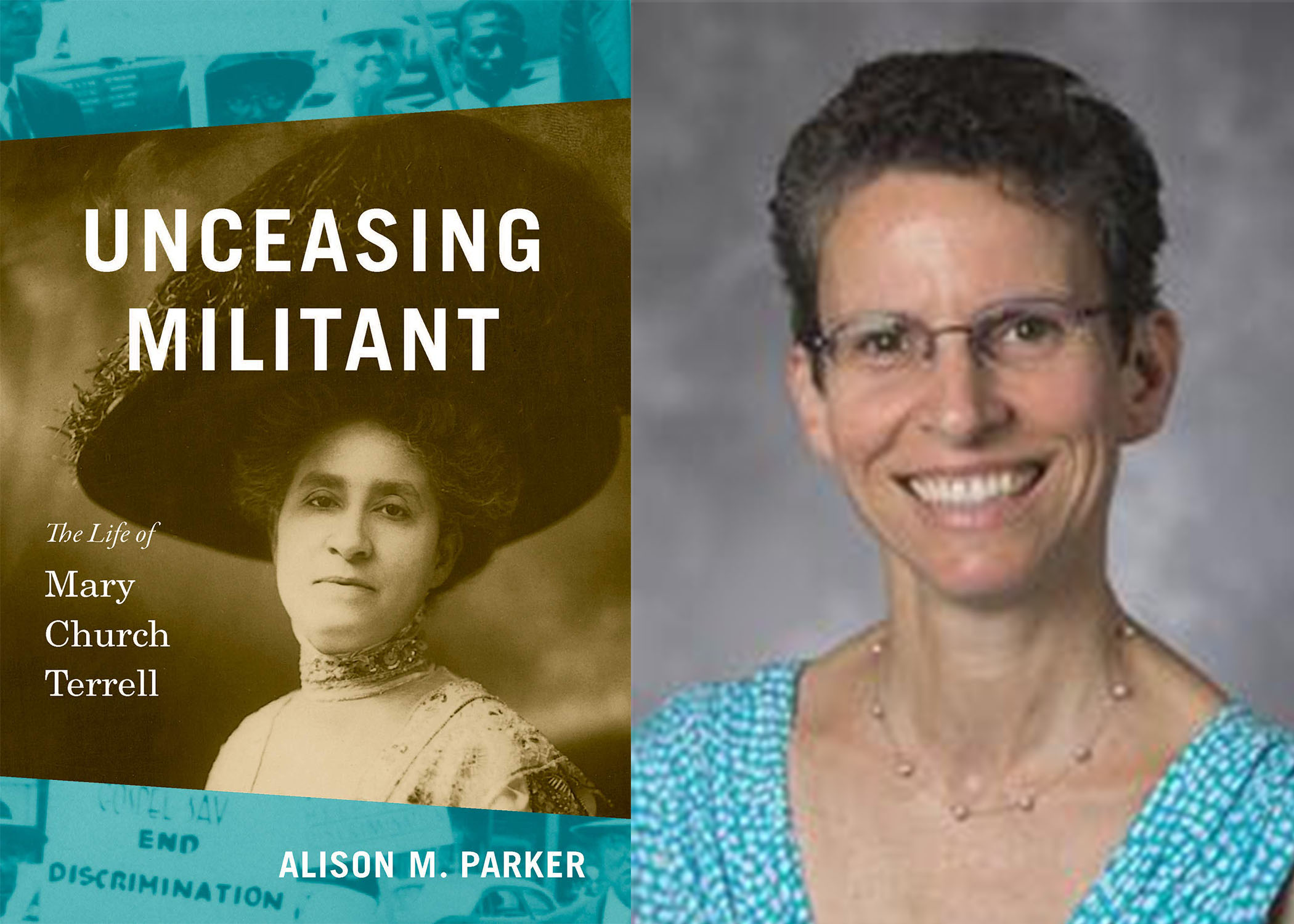 Image of Alison Parker and her Unceasing Militant book cover