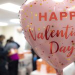 Balloon that says Happy Valentines Day