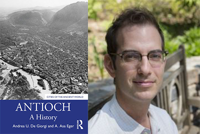 Antioch book cover and headshot