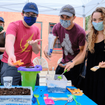 Students and professors lead archaeology activities